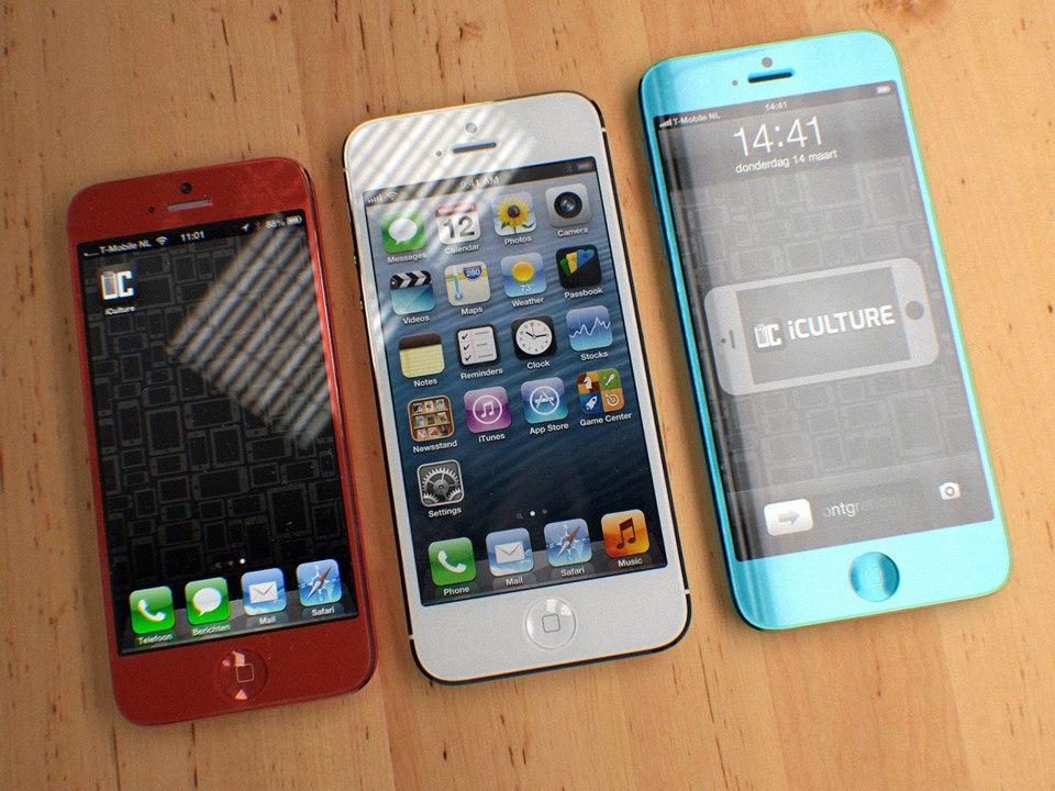 red-iphone 5c