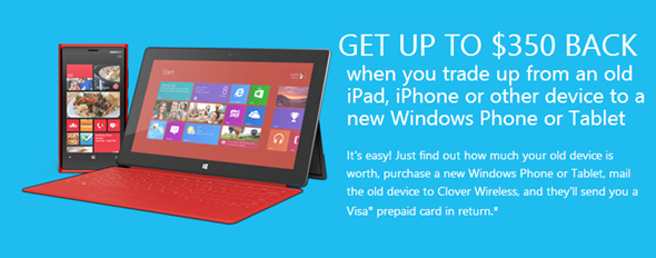 Microsoft-iphone-trade-in-program-iPad-iphone-Android