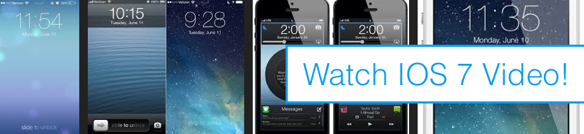 Watch The Official Apple IOS 7 Video