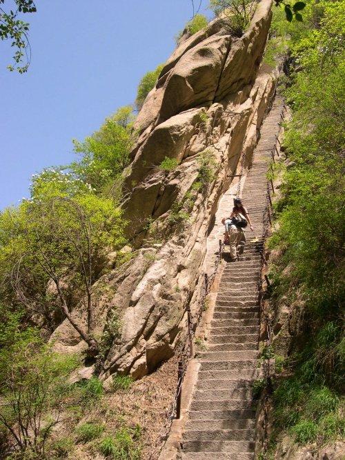 stairs-huashan-china